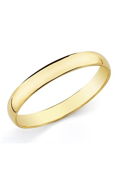 Alianza boda clásica oro amarillo de ley